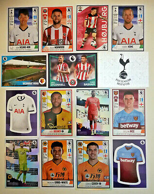 Panini Football 2020 Premier League Stickers 463-636 ☆ BUY 4 GET 10 FREE UPDATED