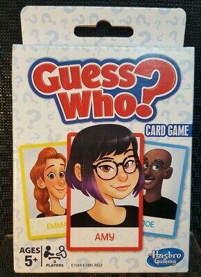 Guess Who? Card Game for Kids Ages 5 and Up 2 Player Guessing Game Free Post