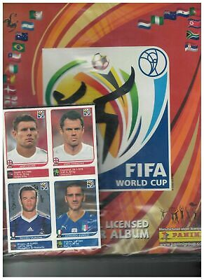 AGGIORNAMENTI WC SOUTH AFRICA 2010 SET COMPLETO 638 FIGURINE ALBUM VUOTO