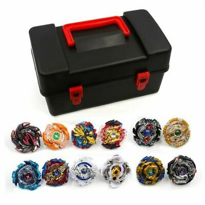 8/12pcs SET Beyblade Burst Evolution Arena Launcher Battle Stadium Toy Box Gift