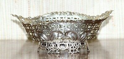 Sterling Silver English Antique Bowl 1895