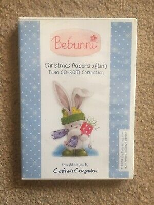 Crafters Companion bebunni Love Collection papercrafting Cd Rom md1217