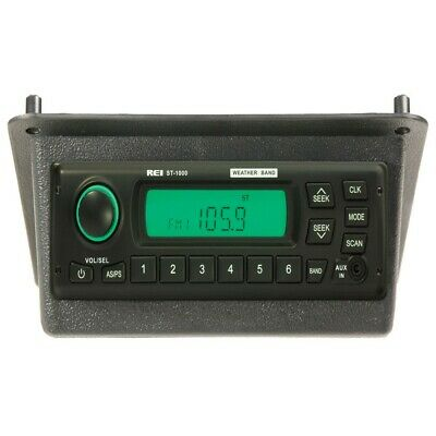 REI Radio ST-1000 AM/FM/WB/AUX Stereo Radio w/D6 Connector for Case IH 1660 1680