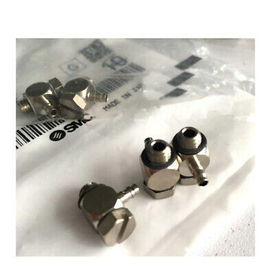 H● SMC M-5ALHU-6 Barb Elbow for Soft Tubing New.