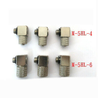 H● SMC M-5HL-4 Hose Elbow Miniature Pipe Joint New.