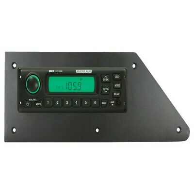 REI Radio ST-1000 AM/FM/WB/AUX Stereo Radio w/ ISO Connector