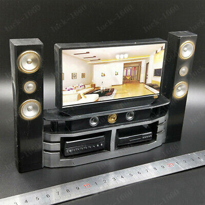 """1/6 Scale Home Theater TV Sound Model Scene the furniture Fit 12"""" Action Figure"""