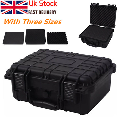 Protective Equipment Hard Carry Case Box Plastic Camera Removable Foam Protect