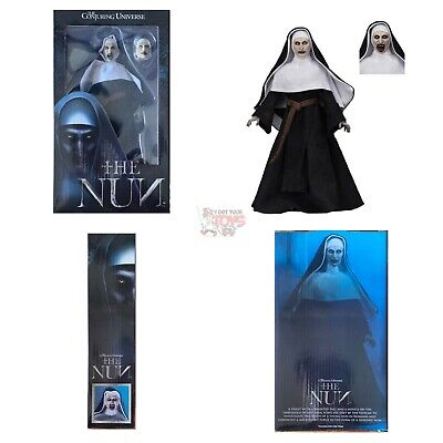 "THE NUN (VALAK) Neca THE CONJURING UNIVERSE 8"" Inch Action CLOTHED FIGURE"