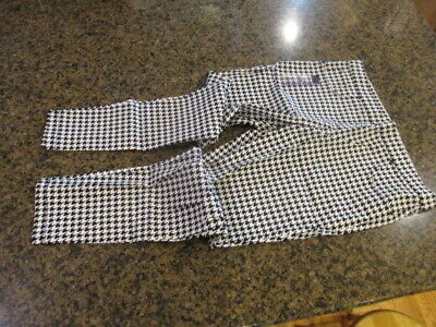 NOBO No Boundaries Juniors Luxe Pull On Pant Houndstooth XXL 19 NWT Legging Mid