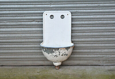 antique enamelled sink vintage iron basin trough old cast iron sink planter
