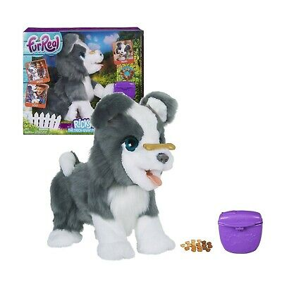 FurReal Friends Ricky, the Trick-Lovin' Interactive Plush Pet Toy, 100+ Sound...