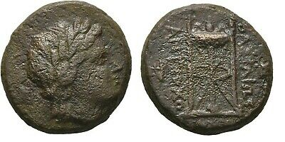 Ancient Greece 222-187 BC SELEUKID SYRIA Antiochos III APOLLO Tripod