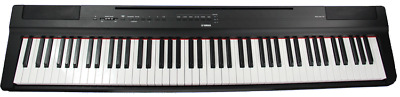Used Yamaha P125 Black 88-note, Weighted Action Digital Piano