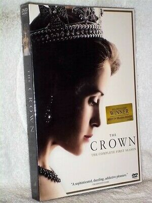 Crown Complete First Season (DVD, 2016) NEW Claire Foy Olivia Colman
