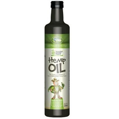250ml Hemp Seed Oil - Organic Certified Food