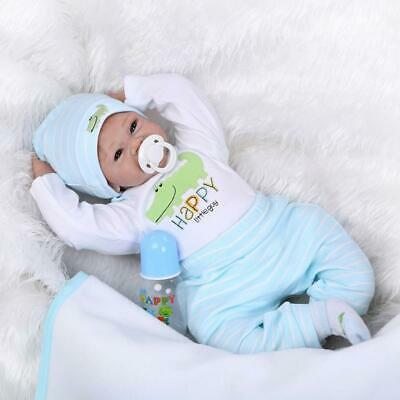 Reborn Baby Doll Boy Handmade Real Looking Newborn Baby Vinyl Real Baby  Doll