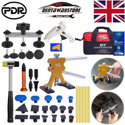 PDR Tools Auto Body Paintless Hail Removal Dent Puller Lifter Tap Hammer DIY Kit