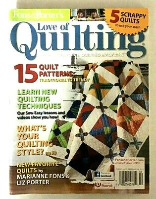 Fons and Porters Love of Quilting Magazine January/February 2013