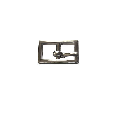 Small Silver Buckles for straps 6mm wide for dolls, sandals, tiny bags, shoes