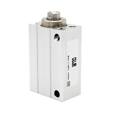 H●  SMC CUJB16-15D Air Cylinder Without Auto Switch For Lateral Mounting.