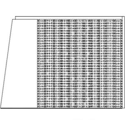AR72860 LH Left Hand Side Screen Made To Fit John Deere Tractor 2840 3130 3135