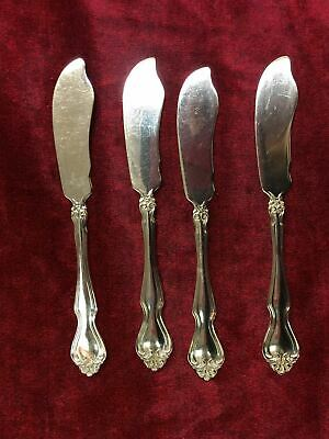 Westmorland George And Martha Butter Spreader HH Sterling Silver Flatware