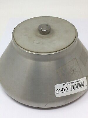 IEC Cat. 850 Fixed Angle Centrifuge Rotor With Lid