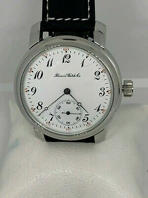 Illinois 16s Grade 173 Getty 15j pocket watch conversion wristwatch