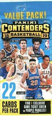 2018-19 Panini Contenders Basketball Sealed Jumbo Fat Pack - Luka Doncic R Auto?
