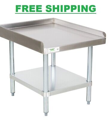 """Stainless Steel Table Commercial Mixer Grill Heavy Equipment Stand NSF 30"""" x 24"""""""
