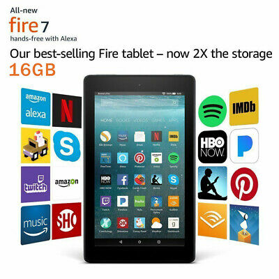 """US Amazon Kindle Fire Tablet 7"""" 16 GB - 9th Generation 2019 Release NEW SEALED"""