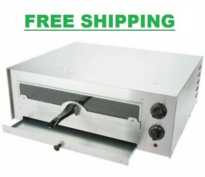 Stainless Steel Countertop Oven Adjustable Thermostatic Control Glass 120V 1700W