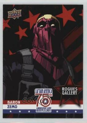 2016 Upper Deck Captain America 75th Anniversary Rogues Gallery Baron Zemo z6b