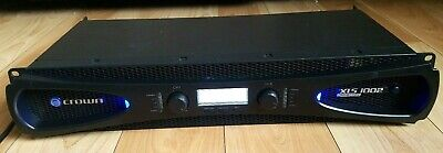 Crown XLS1002 Drivecore Series 2 Channel 350W Pro Power Amplifier - TESTED