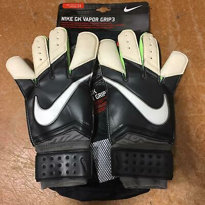 Nike GK Vapor Grip 3 Goalie Goalkeeper Soccer Gloves GS0275-098 Adult Size 11