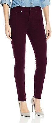 Levi's 169246 Womens 311 Shaping Skinny Jeans Solid Soft Cali Plum Size 28