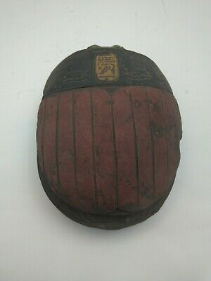 RARE ANTIQUE ANCIENT EGYPTIAN Scarab Beetle Eye of Hours Stone 1585 Bc