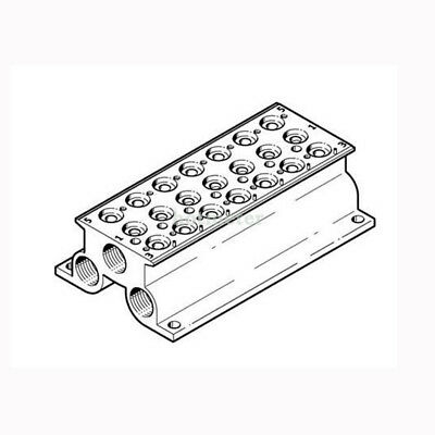 H● FESTO CPE18-PRS-3/8-7 Connector Block 543844 26 mm