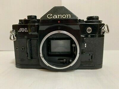 """""""EXC+++"""" Canon A-1 35mm SLR Film Camera Body Only From Japan A16"""