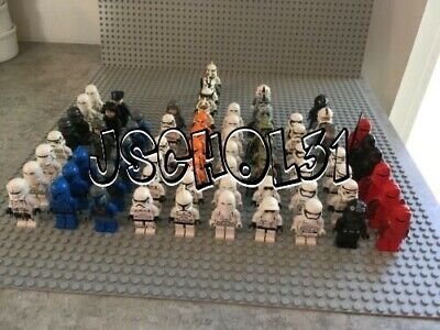 LEGO Star Wars Minifigures Lot -Stormtrooper, Clone Trooper, Imperials -You Pick