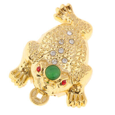 Tree-leg Toad Feng Shui Money Fortune Wealth Good Luck Toad Coin Frog Statue
