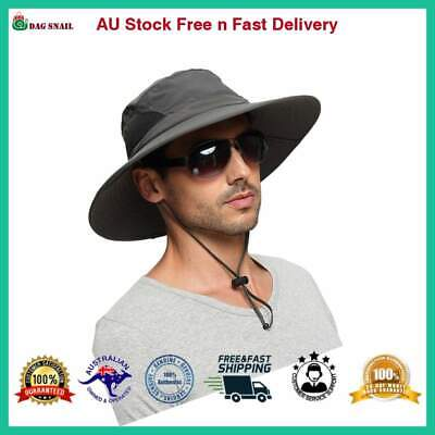 EINSKEY Sun Hats for Men, Unisex UV Protection Wide Brim Bucket Hat Foldable