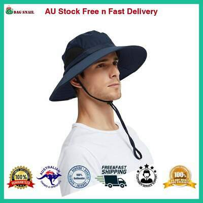 EINSKEY Sun Hats for Men, Unisex UV Protection Wide Brim Bucket Hat Foldable AU
