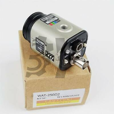 ONE NEW WATEC CCD Color Camera WAT-250D2 WAT250D2