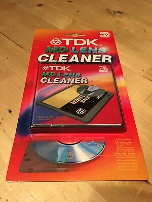 TDK MINI DISC MD Lens Cleaner + Sound Check Program NEW