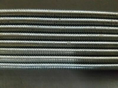 "300 Pack 1/4""-20 X 12"" Fully Threaded Zinc Plated Studs"