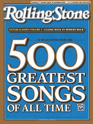 Alfred Publishing (Edt)-Rolling Stone 67 Selections From The 500 Greate BOOK NEW