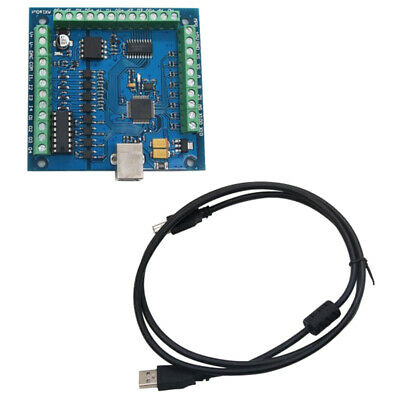 CNC MACH3 USB 4 Axis 100KHz USB CNC Smooth Stepper Motion Controller Card B L4S2