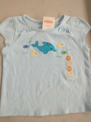 Gymboree NWT SEA SPLASH Fish Bubble White Blue Tank Top Shirt 2 2T 3 3T 5 5T
